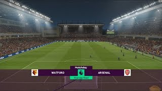 Watford vs Arsenal - 2018-19 Premier League - PES 2019