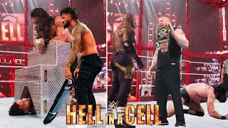 WWE Hell In a Cell 6th June 2021 Highlights Brock Lesnar Attack Roman reigns Vs Jimmy USO Results