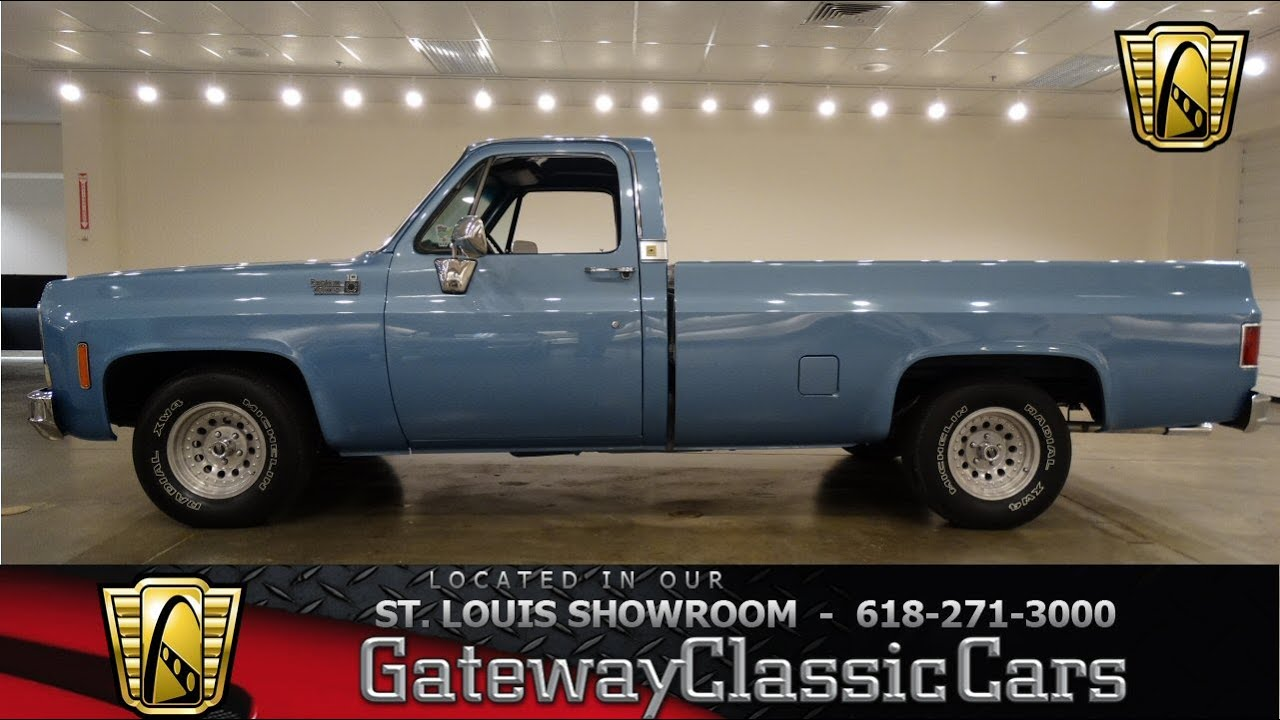 1977 Chevrolet C10 - Gateway Classic Cars St. Louis - #6689 - YouTube