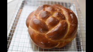 Easy Homemade Challah Bread(Br…
