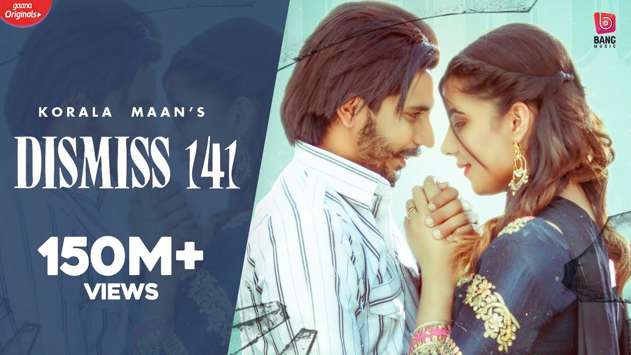 Dismiss 141 (Full Video) Korala Maan   Desi Crew   Latest Punjabi Songs 2020   New Punjabi Song 2020