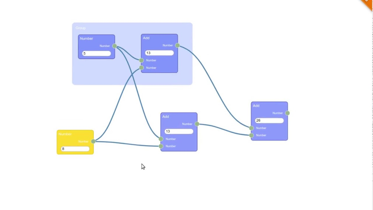 D3 node editor javascript library for visual programming youtube d3 node editor javascript library for visual programming ccuart Image collections