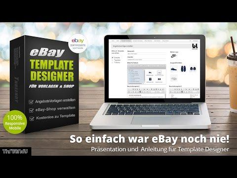 eBay Template Designer & eBay Shop Verwaltung