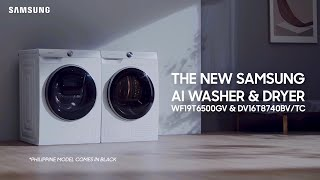 AI Washer and Dryer Review   Samsung