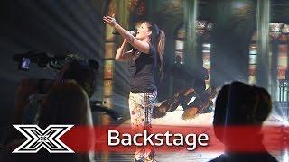 The X Factor Backstage with TalkTalk | Saara Aalto reflects on last week's performance!
