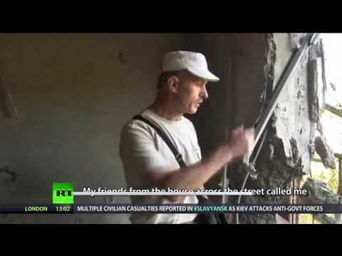 Kiev forces gain control of eastern Ukrainian town of Slavyansk
