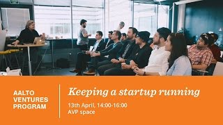 Legal services (Mäkitalo) / Keeping a startup running 13 04 2016