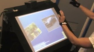 KTY Box: Minority Report Multi-Touch Computer (2007 KTY Project)