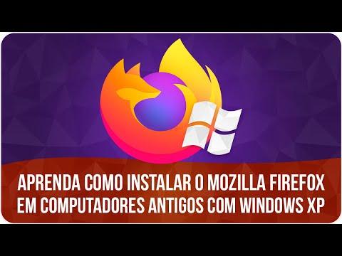 Como instalar o Mozilla Firefox no Windows XP (Computadores Antigos)