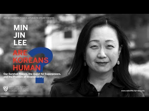 Are Koreans Human? | Min Jin Lee || Radcliffe Institute