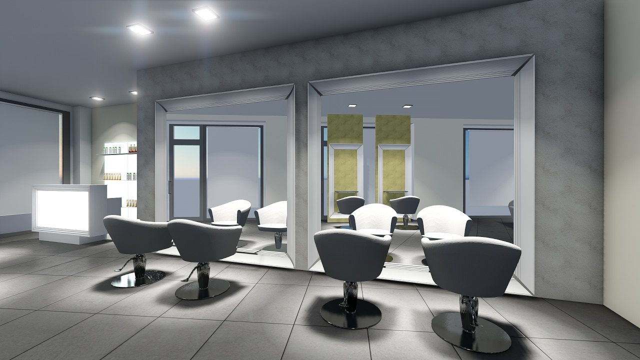 Arredamento parrucchieri akorj progetto restyling salone for Arredamento parrucchieri outlet