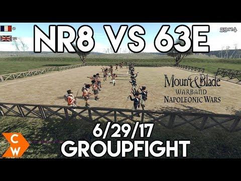Nr8 vs 63e | Friendly Groupfight | 6-29-17 | NW Groupfight