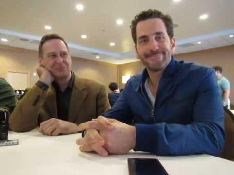 Hannibal SDCC 2014 - Aaron Abrams & Scott Thompson Interview