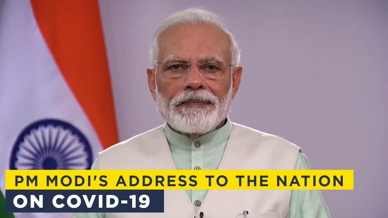 PM Modi's address to the nation on COVID-19