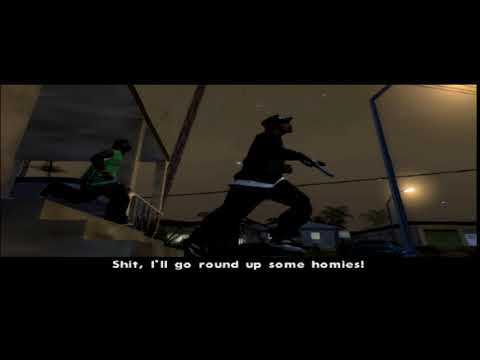 Grand Theft Auto: San Andreas PS2 Mission #24 House Party