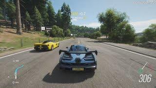 Forza Horizon 4 PC Demo - Free Roam Gameplay in McLaren Senna [4K 60FPS]