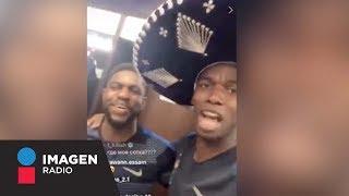 Griezmann y Pogba festejan triunfo a la mexicana