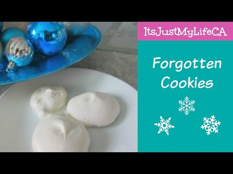 FORGOTTEN COOKIES | Sarah's Holiday Cookie Party 2015