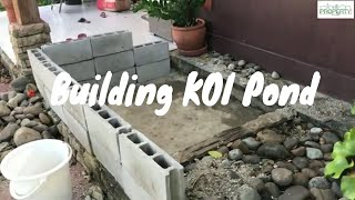 Building Koi Pond