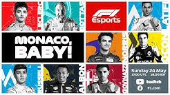 F1 Virtual Monaco Grand Prix LIVE!