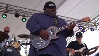 """Hey Joe~"" Christone ""Kingfish"" Ingram @ 2016 Winthrop Rhythm & Blues Festival 9302"