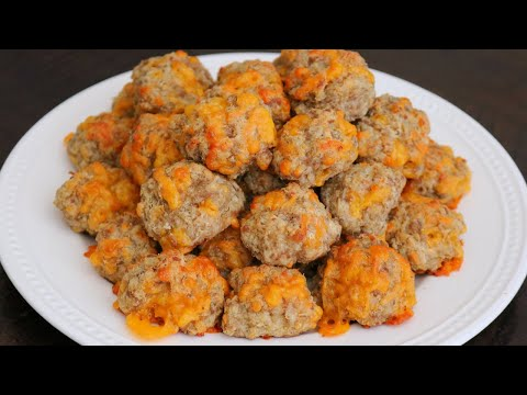 Best Cream Cheese Sausage Balls with Bisquick (Easy & Delicious!)