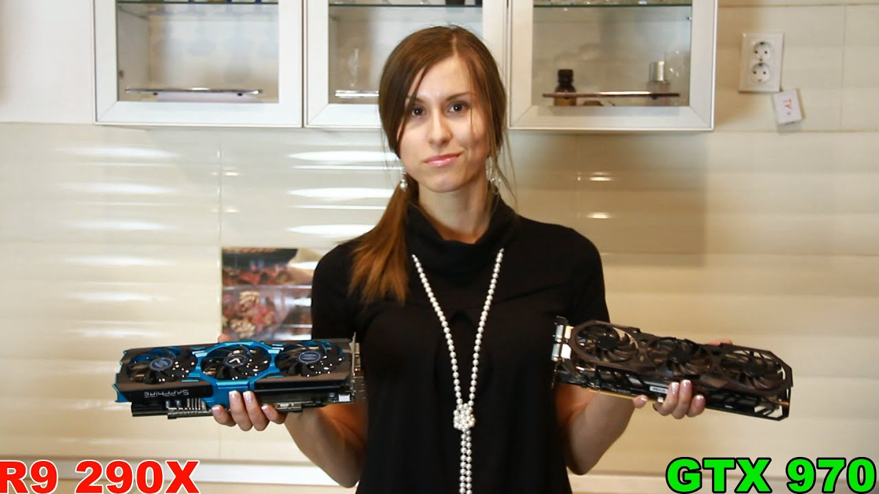290x vs GTX 970 (Techno-Kitchen)