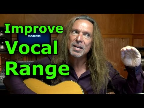 How To Improve Vocal Range – Sing High Notes - Ken Tamplin Vocal Academy