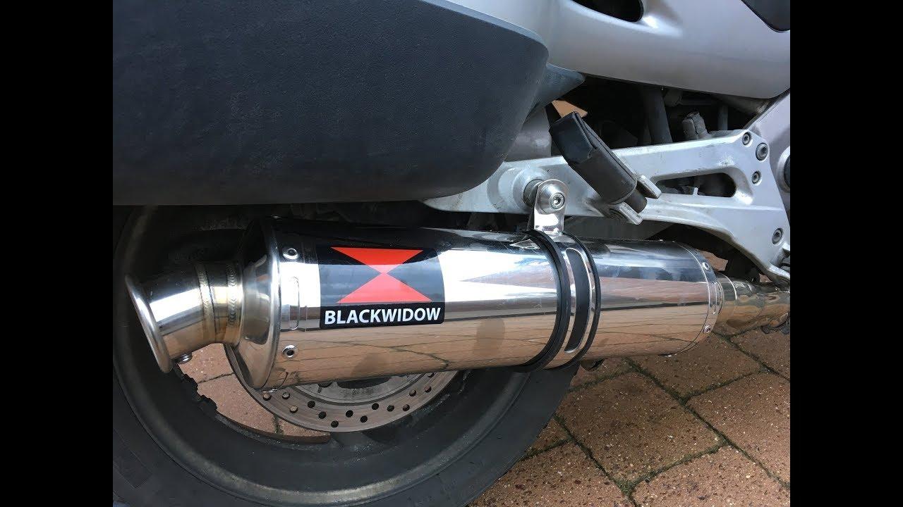 black widow exhaust youtube
