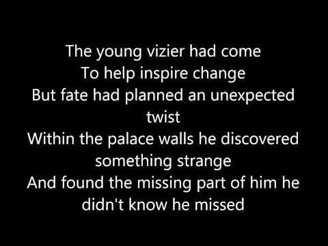 A Thousand and One Nights - Lyrics (Starkid's Twisted)
