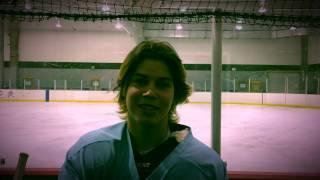 playing hockey blind