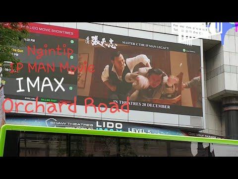 Ngintip THE IP MAN movie😄Depan Wheelock Place Singapore//OrchardShoppingCenter