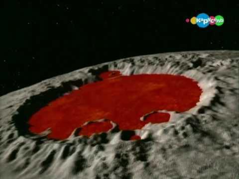 Происхождение лунных кратеров