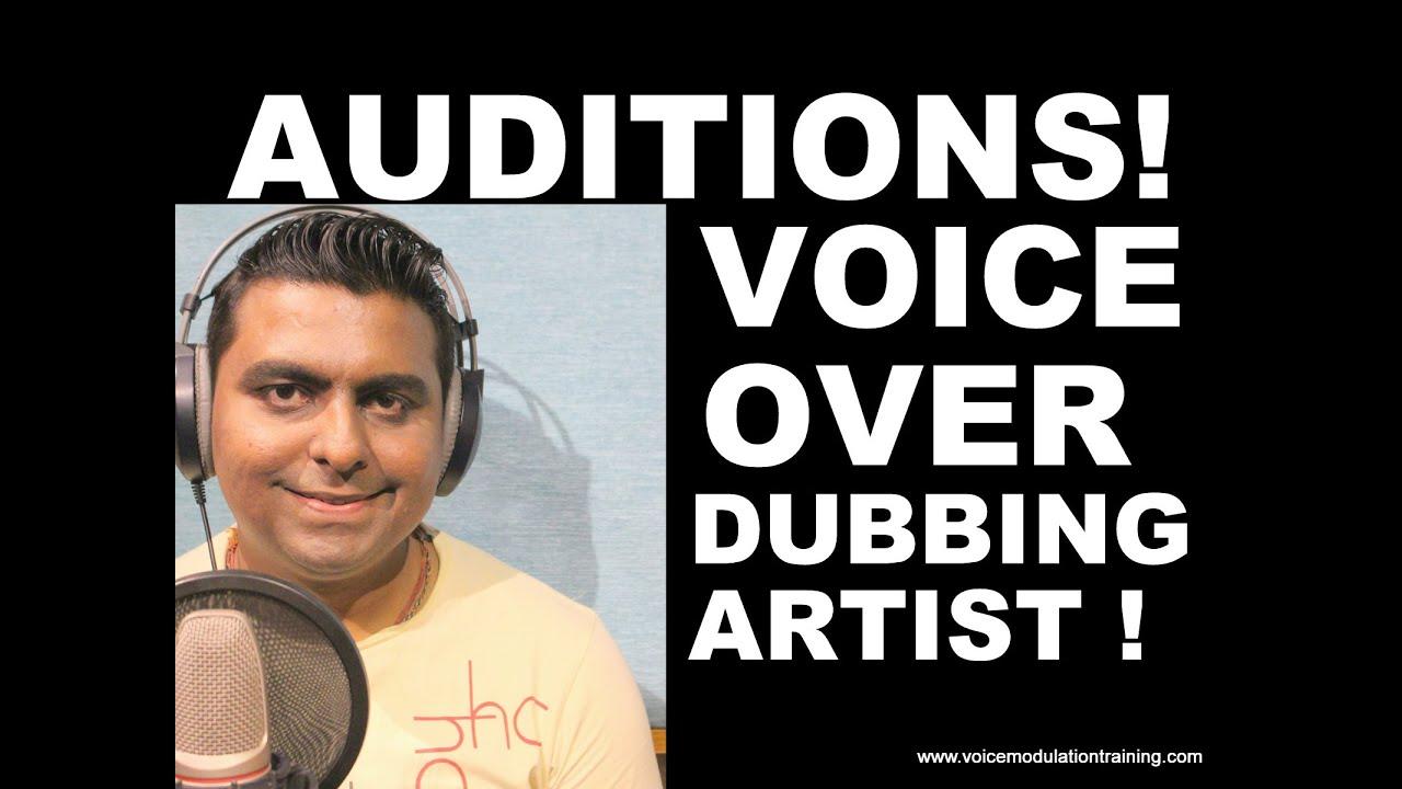 Auditions Dubbing Voiceovers Mumbai For Students Of Voice Modulation Training Institute Mumbai Youtube