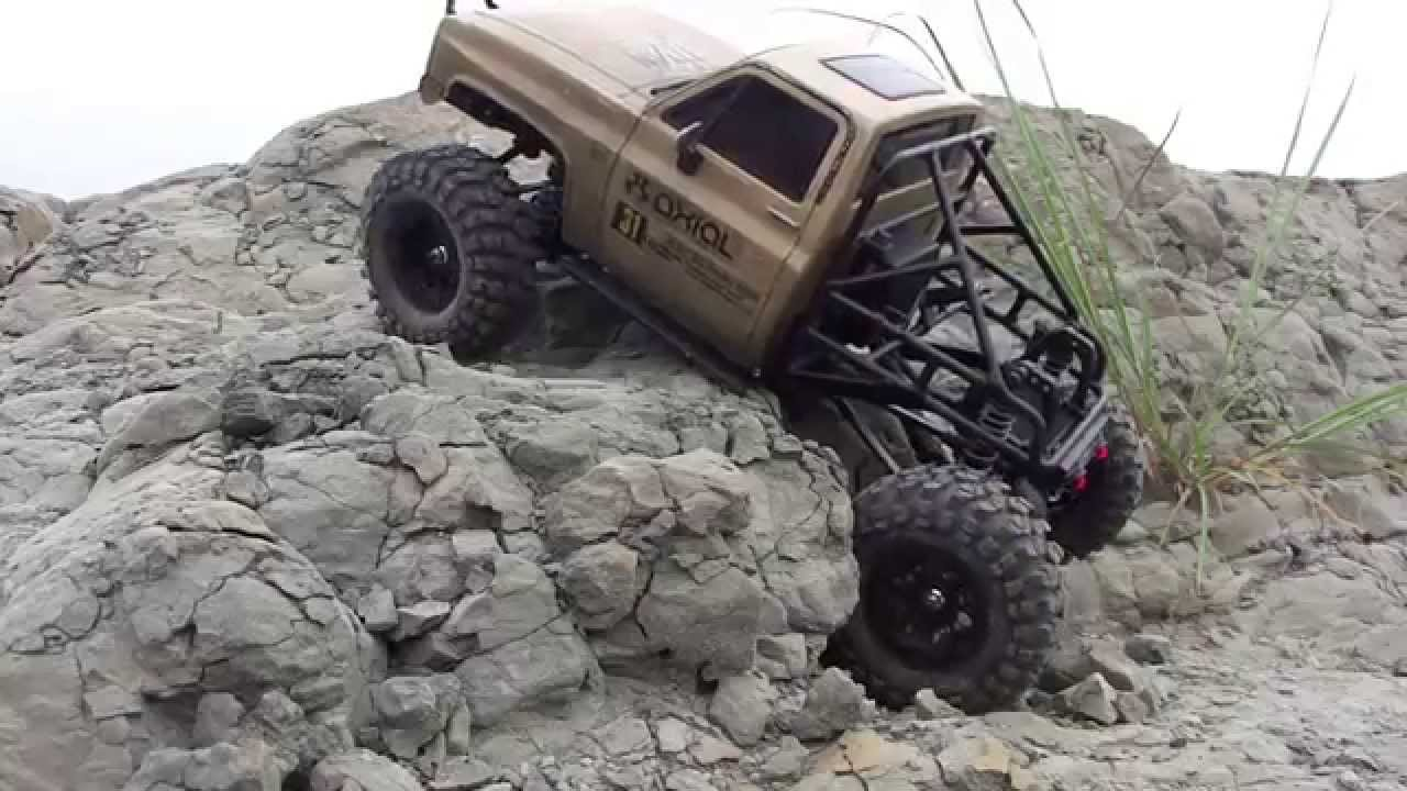Ford Bronco Raptor >> SCX10 truggy - YouTube