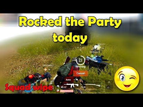 I Rocked The Party Today - PUBG Mobile