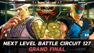 SFVAE ▷ Grand Finals ▷ Chris Hu (G) vs Dieminion (Ed) ▷ NLBC 127