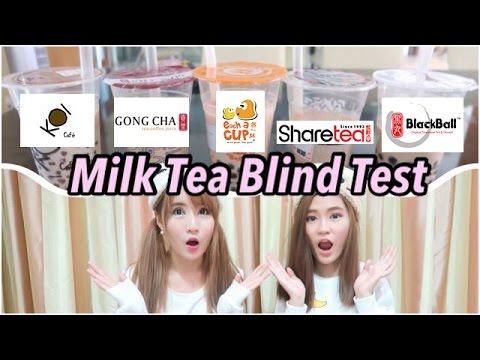Singapore Bubble Tea Blind Test (KOI, Gongcha, Blackball, Each a cup, Sharetea) - 2 Blind Mice: EP 1