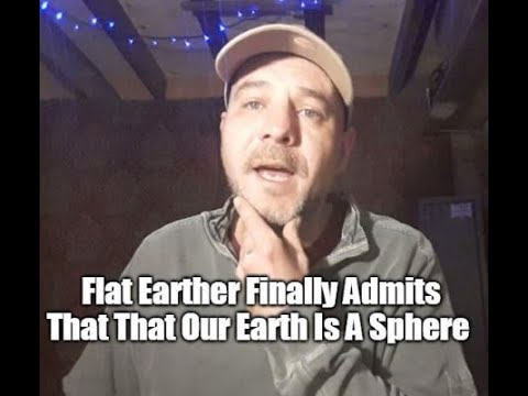 Flat Earther Finally Admits That Our Earth Is A Sphere (Mirror) thumbnail