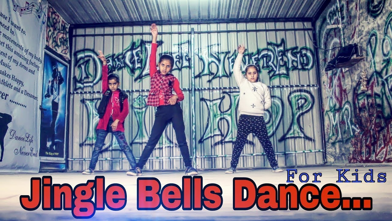 Jingle Bells Hip Hop Dance For Kids (Steviie Wonder & Keanu Remix)    Christmas Dance    Mr ...