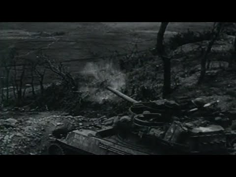 Battle of Okinawa US Marines & Army Soldiers in Combat Naha Shuri Yonabaru Line with Sound WW2