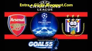 Donde Ver Partido Arsenal vs Anderlecht en Vivo Gratis por Internet
