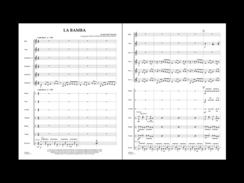 La Bamba by Ritchie Valens/arr. Diane Downs/ed. Rick Mattingly