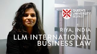 LLM International Business Law - Riya, India