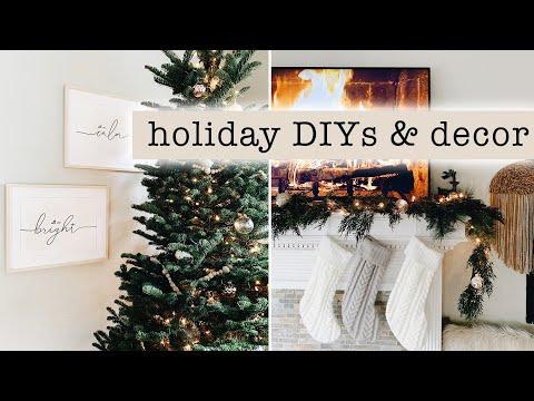 Holiday DIYs & Decorating for Christmas // Decor Ideas + Tips 2019