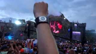Tomorrowland 2013 Hardwell :  EVERYBODY FCKING JUMP!!!