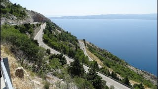 Cesta do Chorvatska Podgora Čaklje - 2018