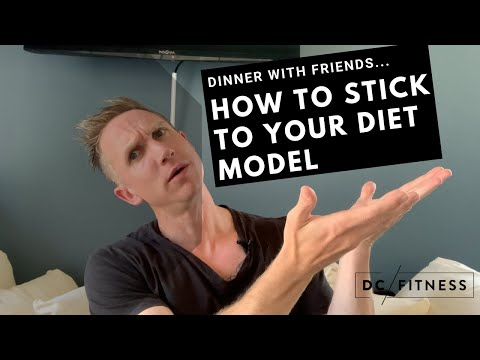 Dinner With Friends...HOW TO STICK TO YOUR DIET MODEL