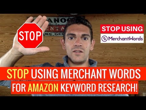 Why You NEED To STOP Using MERCHANT WORDS TODAY! The BIGGEST PROBLEMS With Amazon KEYWORD RESEARCH!!
