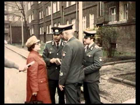 East German Police GDR - DDR Volkspolizei Info Film